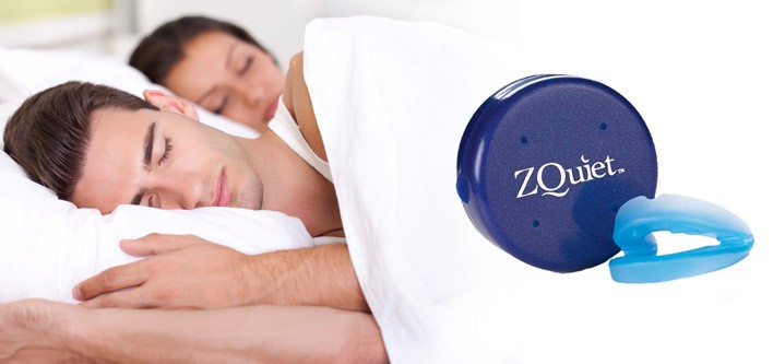 Zquiet Snoring Mouthpiece device