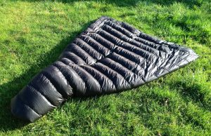 Waterproof sleeping bag shell