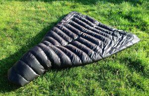 Waterproof sleeping bag shell