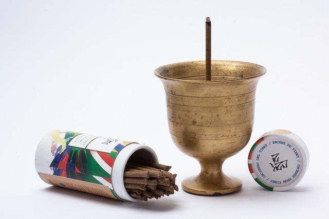 burning incense as antidepressants