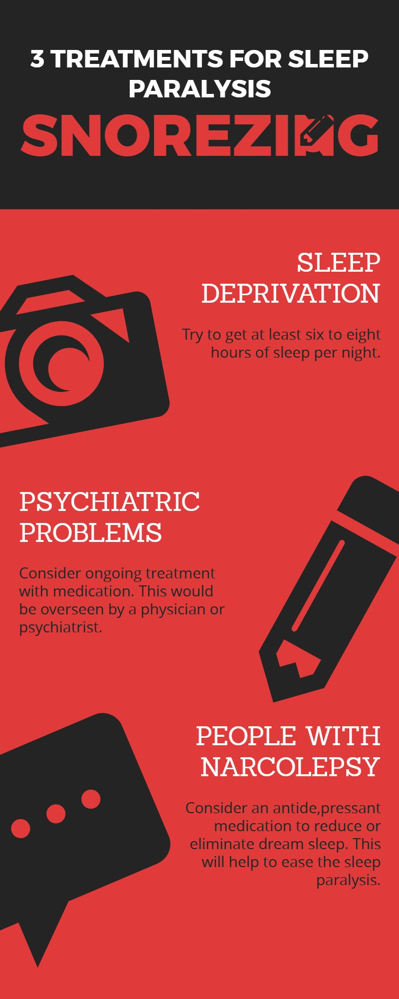 sleep paralysis cure