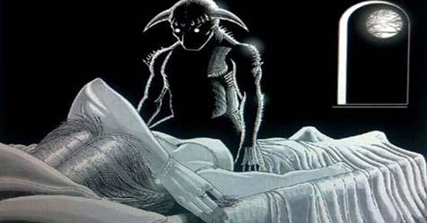 sleep paralysis hallucinations stories