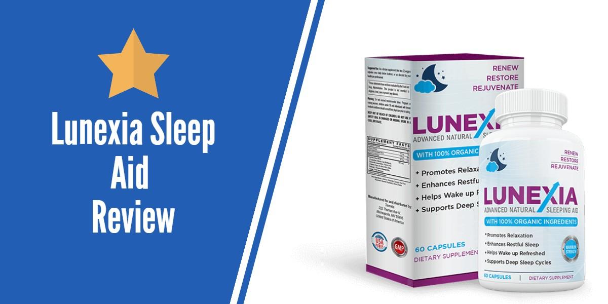 Lunexia Sleep Aid Review Will You Fall Asleep Fast Sleep Longer