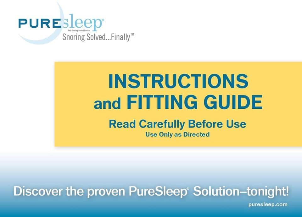 pure sleep mouthpiece guard